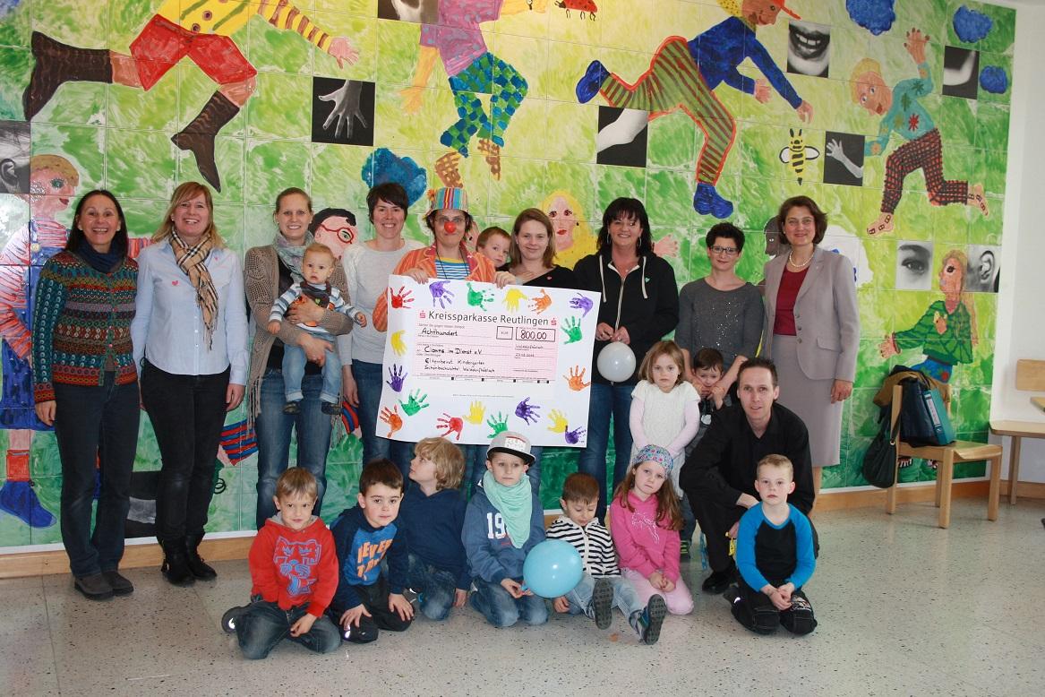 Elternbeirat Kindergarten Waldorfhäslach, Erlös aus Faschingsfest