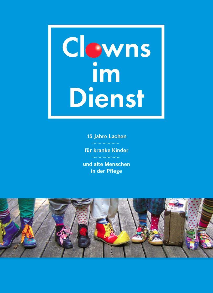 Jubelbroschüre Clowns im Dienst