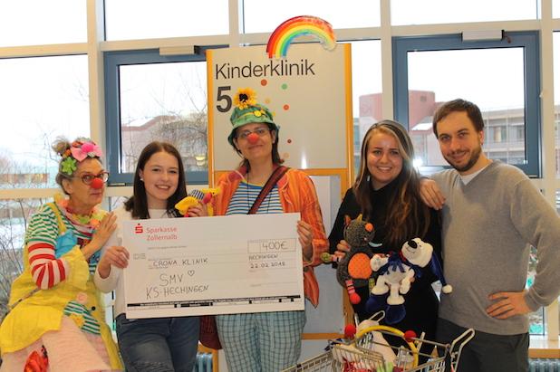 Spendenübergabe der Kaufmännischen Schule Hechingen