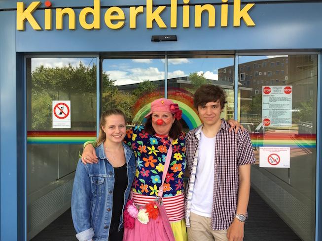 Hanna Fäller, Finn Bachmann und Pipolina
