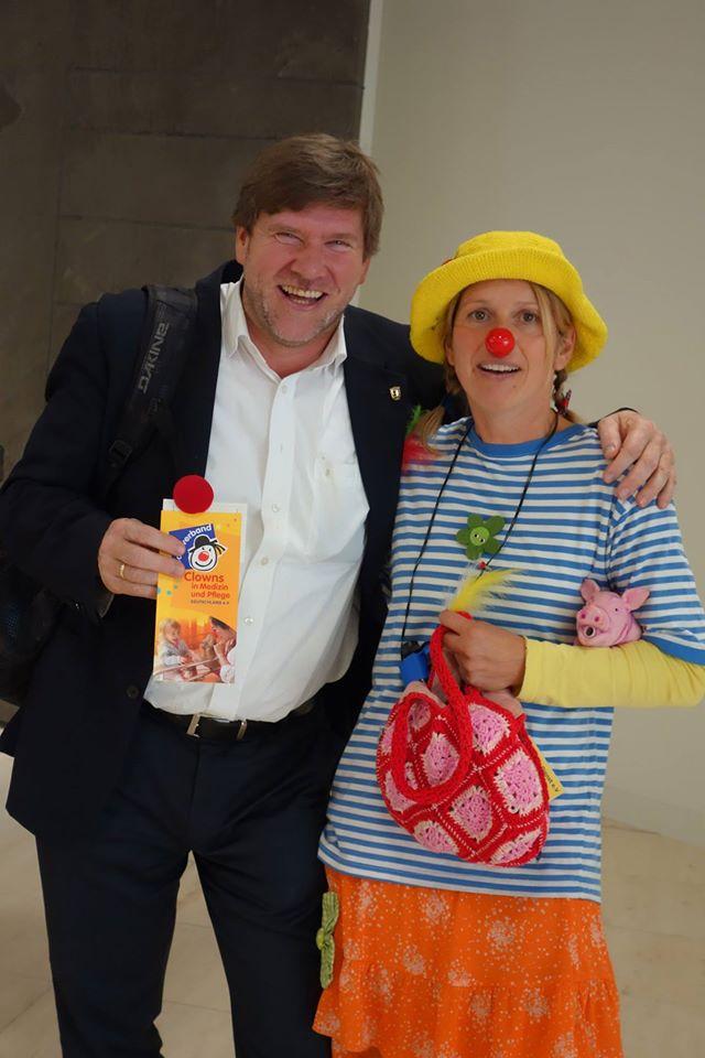 CID zu Besuch im Landtag