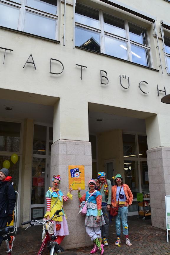 Dachverbandsaktionstag der Clowns im Dienst