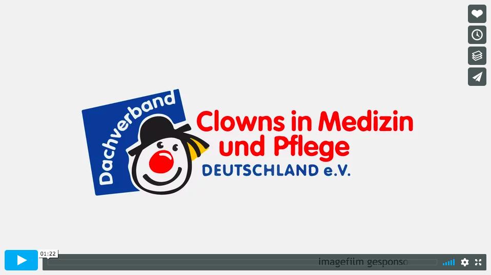 Film des Dachverbandes Clowns in Medizin und Pflege e.V.