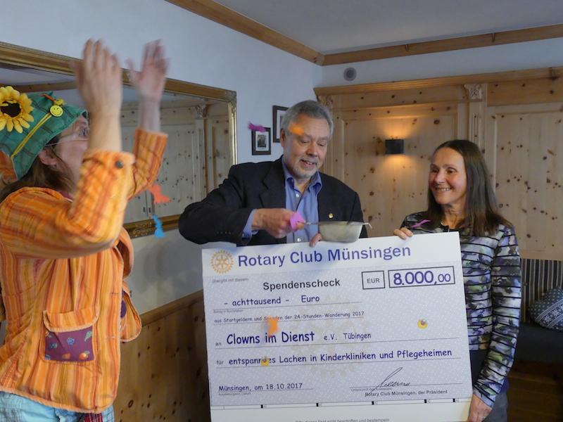 Spende Rotary Club Münsingen