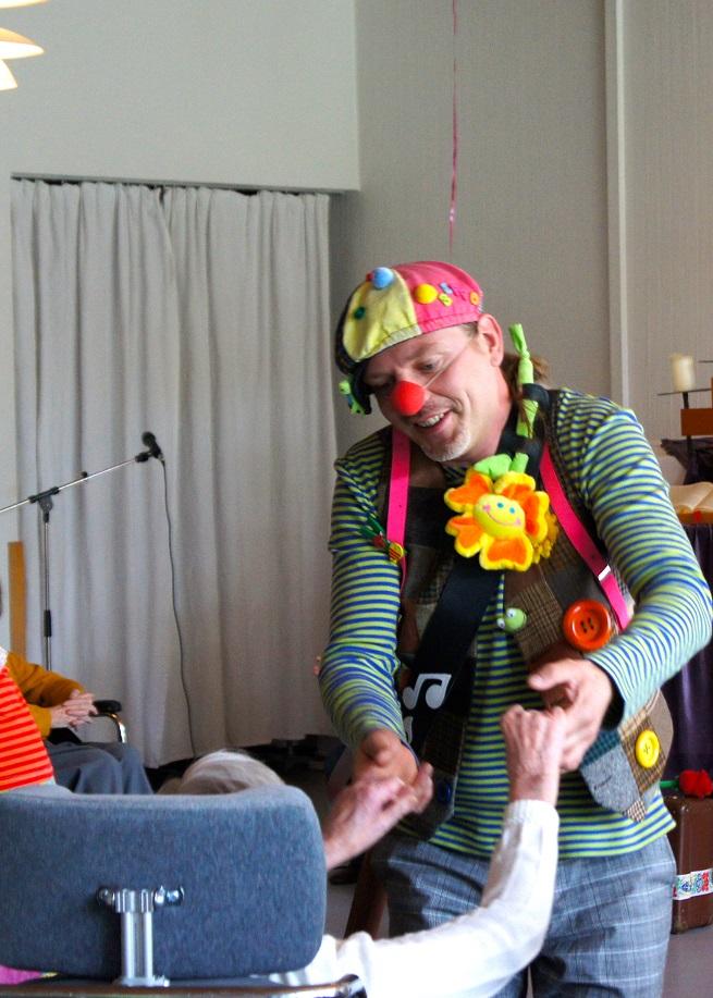 Clown Beppo im Einsatz