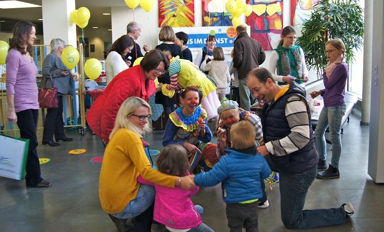 Geburtstagsfeier Stauferklinikum Mutlangen