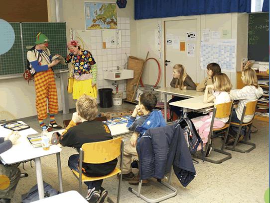 Kooperation mit der Grund- und Hauptschule Riderich